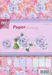 Joy! A5 paperbloc 6011-0002 groen-rose