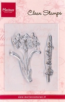MD Clear stamps CS0829 Amaryllis