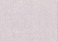 A4 Embossed metallic bloem blad motief 3454 lila