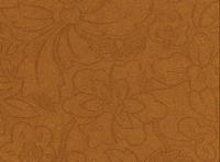 A4 Embossed metallic bloem blad motief 3451 cognac
