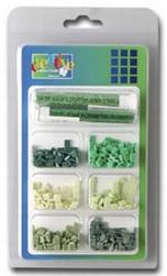Vaessen Mozaiek incl. glitter ass. 007 groen