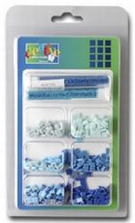 Vaessen Mozaiek incl. glitter ass. 006 blauw