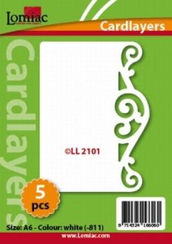 Lomiac Oplegkaart LL2101 wit