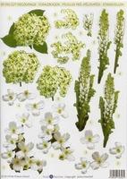 Stansvel Small Beauties DC56 Witte bloemen