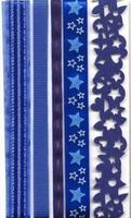 Lint decorative 12133-3301 assotiment blauw