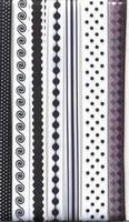 Lint decorative 12133-3304 assotiment zwart