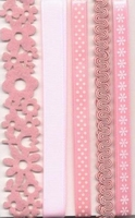 Lint decorative 12133-3302 assotiment roze