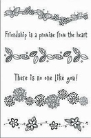Hero Arts Clear stamps CL128 spring borders