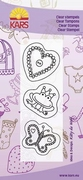 Clear stamp Kitty de Wolf 507 Lovely