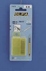 Mesjes Olfa art knives reservemes van AK-1/5B