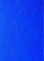 A4 Primavera karton Milano blauw