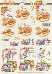 A4 Knipvel Le Suh 8215207 Beroep bakker/schilder