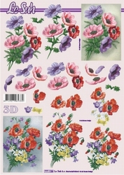 A4 Knipvel Le Suh 777126 Bloemen annemoon/boeketje