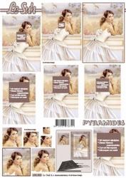 A4 Knipvel Le Suh pyramide 630002 Huwelijk/Bruid