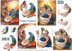 A4 Knipvel Le Suh Kerst 4169218 Geboorte van Jezus
