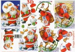 A4 Knipvel Le Suh Kerst 4169216 Kerstman