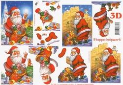A4 Knipvel Le Suh Kerst 4169214 Kerstman