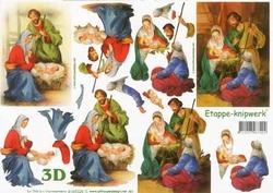 A4 Knipvel Le Suh Kerst 4169328 Geboorte van Jezus