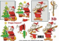 A4 Knipvel Le Suh Kerst 4169100 Kerstman