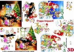 A4 Knipvel Le Suh Kerst 4169103 Kerstman