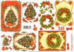 A4 Knipvel Le Suh Kerst 4169189 Kerstboom