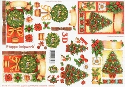 A4 Knipvel Le Suh Kerst 4169191 Kerstboom