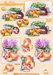 A4 Knipvel Le Suh 8215201 Herfst pompoenen
