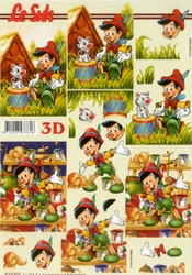 A4 Knipvel Le Suh 4169936 Pinokkio