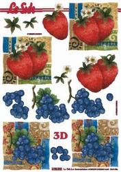 A4 Knipvel Le Suh 4169902 Fruit aardbei/druiven