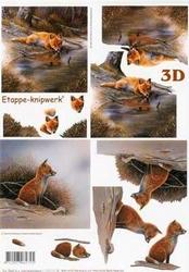 A4 Knipvel Le Suh 4169602 Dieren vosje