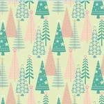 Scrapbookvel K&Company 651364 Glad papier SN. christmas tree