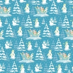 Scrapbookvel K&Company 651432 Glad papier SN. winter winder