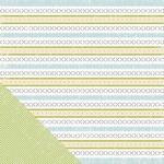 Scrapbookvel Making Memories 30024 GP Paper - stripe 2-side