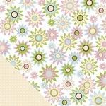 Scrapbookvel Making Memories 30023 GP Paper - flower 2-side