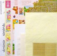 LeCreaDesign Sticker-C-Stitch Twinny kit 61.5328 Geel