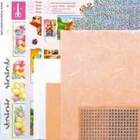 LeCreaDesign Sticker-C-Stitch Twinny kit 61.5311 Zalm