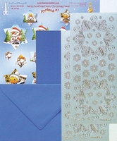 LeCrea Mylo & Friends Kerst kit Pyramide 51.5397 Blauw