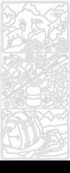 Peel 'offs sticker vel alpen 2331 omgeving