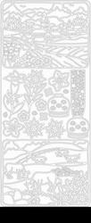 Peel 'offs sticker vel alpen 2332 bloemen