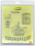 Clear stamps Card Deco Stampies ST10009 Kerstmis