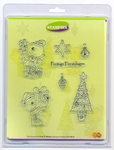 Clear stamps Card Deco Stampies ST10010 Kerstmis