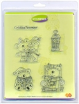 Clear stamps Card Deco Stampies ST10012 Winterpret