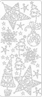 Kerststicker TH 1986 Ster en bal