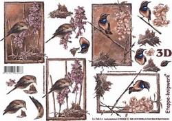 A4 Knipvel Le Suh 4169429 Dieren/vogel op takken