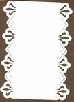 PaperUp borduur oplegkaart A6 602013 Baroque in rectangle