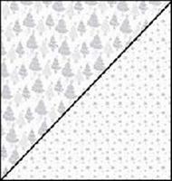 Scrapbookpapier Rayher Silverline 79-281-000