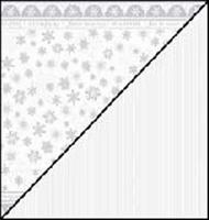 Scrapbookpapier Rayher Silverline 79-286-000