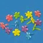 Rayher Splitpennen kleine bloem 7835349 Roze