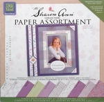 Deja Views The Sharon Ann paper assortiment SAC-P2 violet