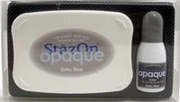 Stempelkussen StazOn opaque 108 baby blue